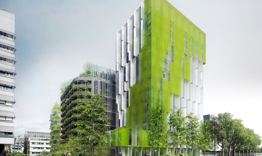 Trio of living green buildings reinvent Paris as a thriving ...
