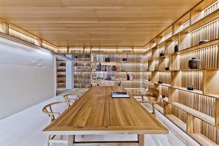 Two homes that emphasize storage and display