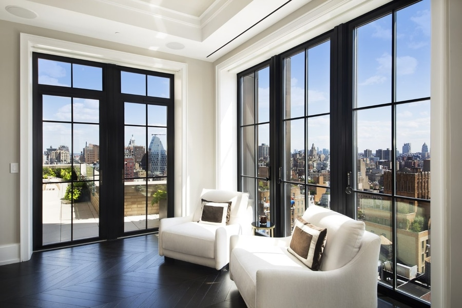 Two Sophisticated Luxury Apartments In NY (Includes Floor Plans)