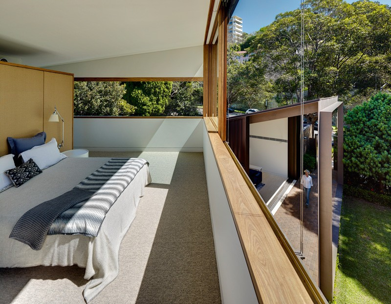 Tzannes Associates Design A House With Indoor/Outdoor Rooms - Sydney ...