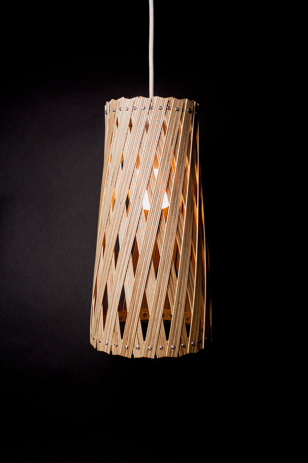 plywood lighting. Upcycle, Bent Slivers Of Plywood Offer A Delicate Interplay Shadow And Light. Lighting O