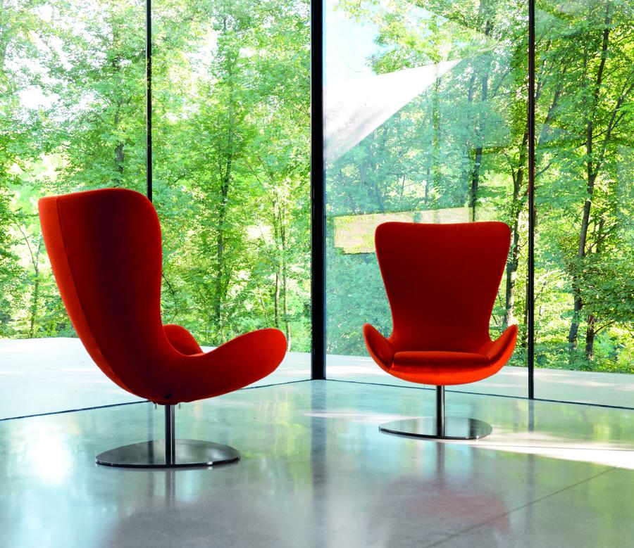 WING Armchair, Design Setsuu0026Shinobu Ito