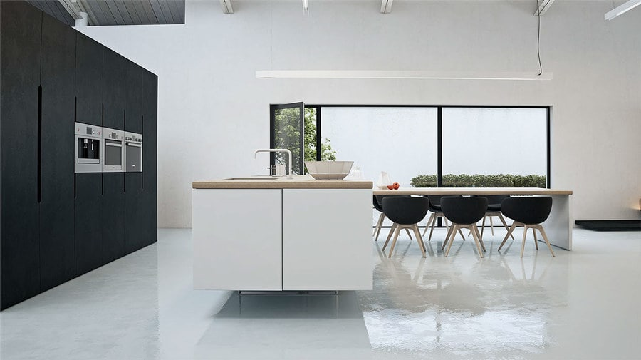 Wondrous White Three Lofts With Clean Bring Interiors