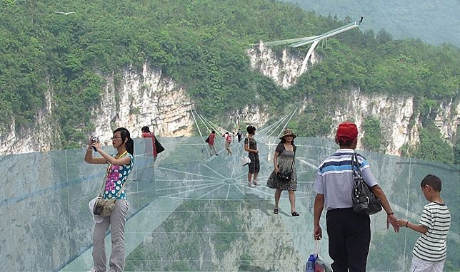 worlds tallest and longest glass bridge announced for chinas zhangjiajie grand canyon - Zhangjiajie Glass Bridge