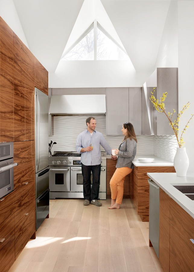 a young family gets a fresh update for their mid century modern home - Mid Century Modern Kitchen Update