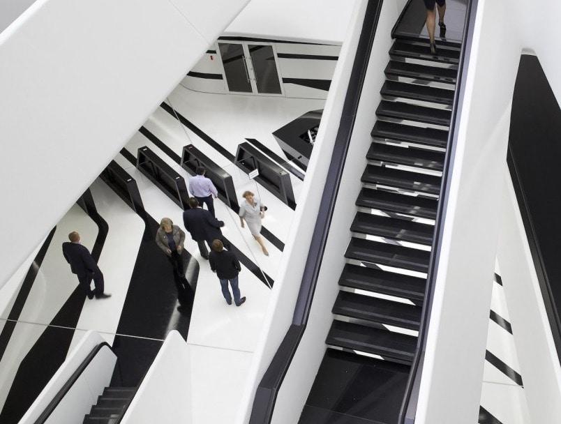 Zaha Hadid S Dominion Office Building In Moscow Boasts A E Age
