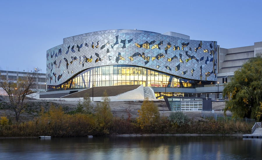 Delicieux ZAS Architectsu0027 New Bergeron Centre For Engineering Excellence At York  University In Toronto Looks To