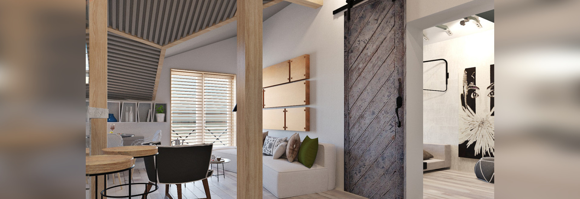 4 Small Studio Apartments Decorated in 4 Different Styles (All ...