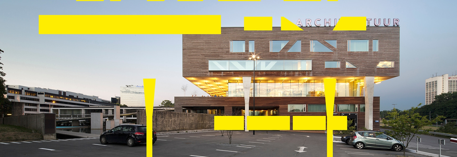 Antwerp's deSingel Arts Campus reveals their new architecturally-inspired graphics, designed by Why Not Associates