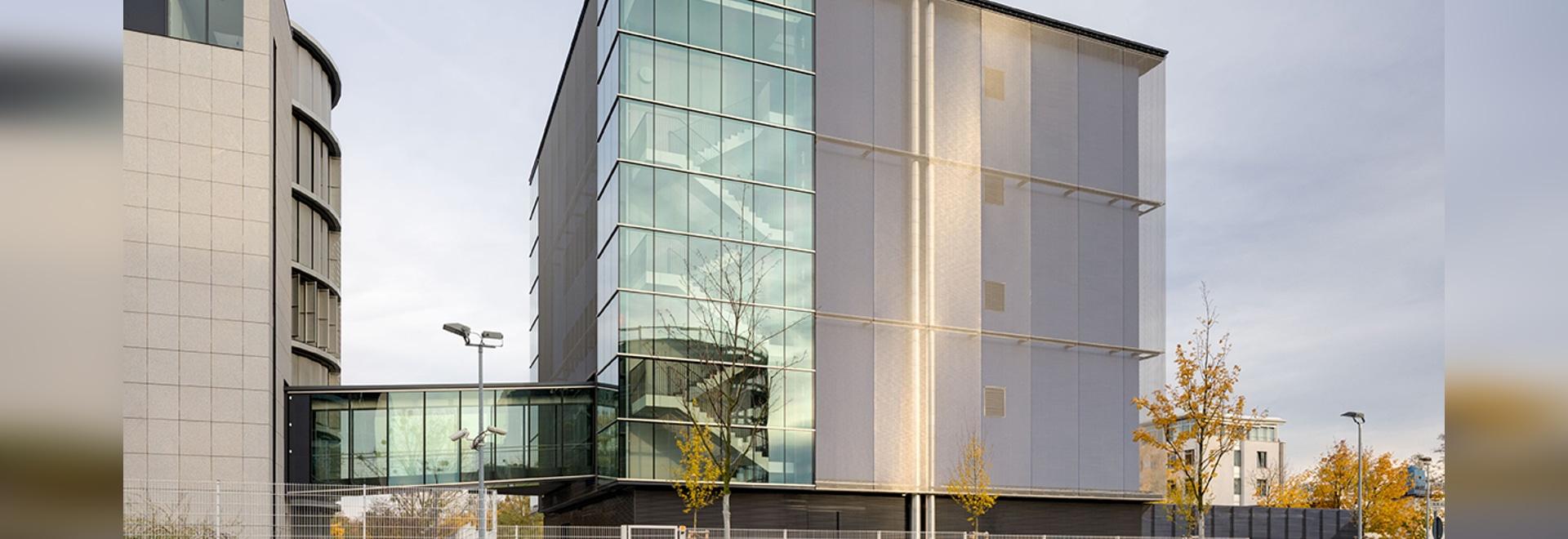 Architectural Mesh Facade Eumetsat