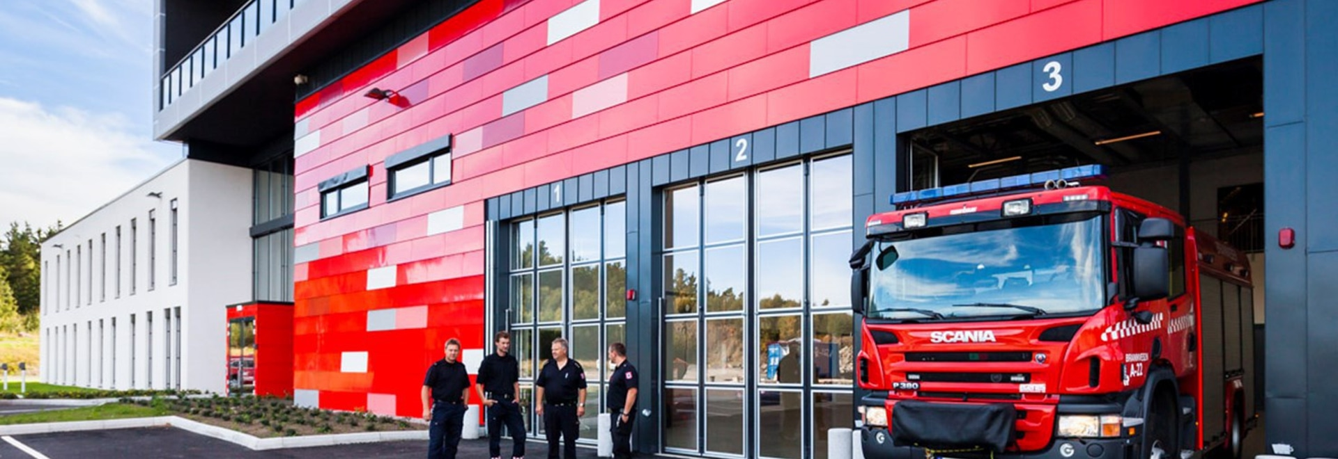 ARENDAL FIRE STATION, NORWAY'S FINEST!