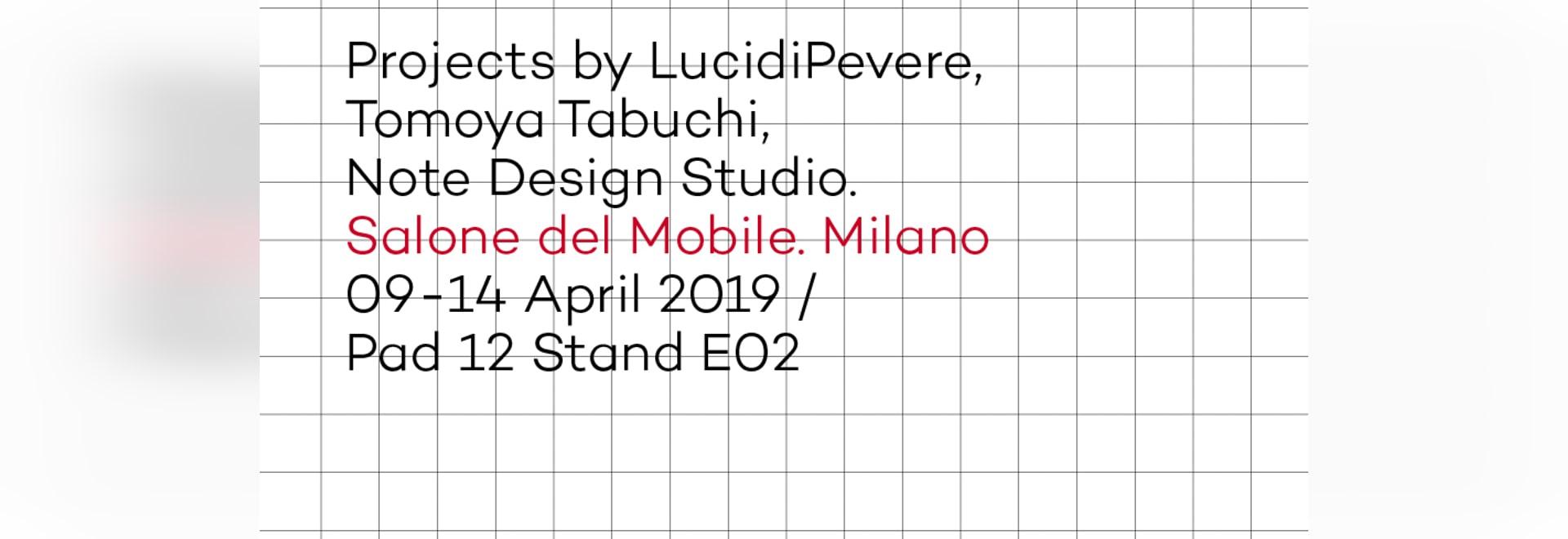 Arrmet at salone del Mobile, invitation