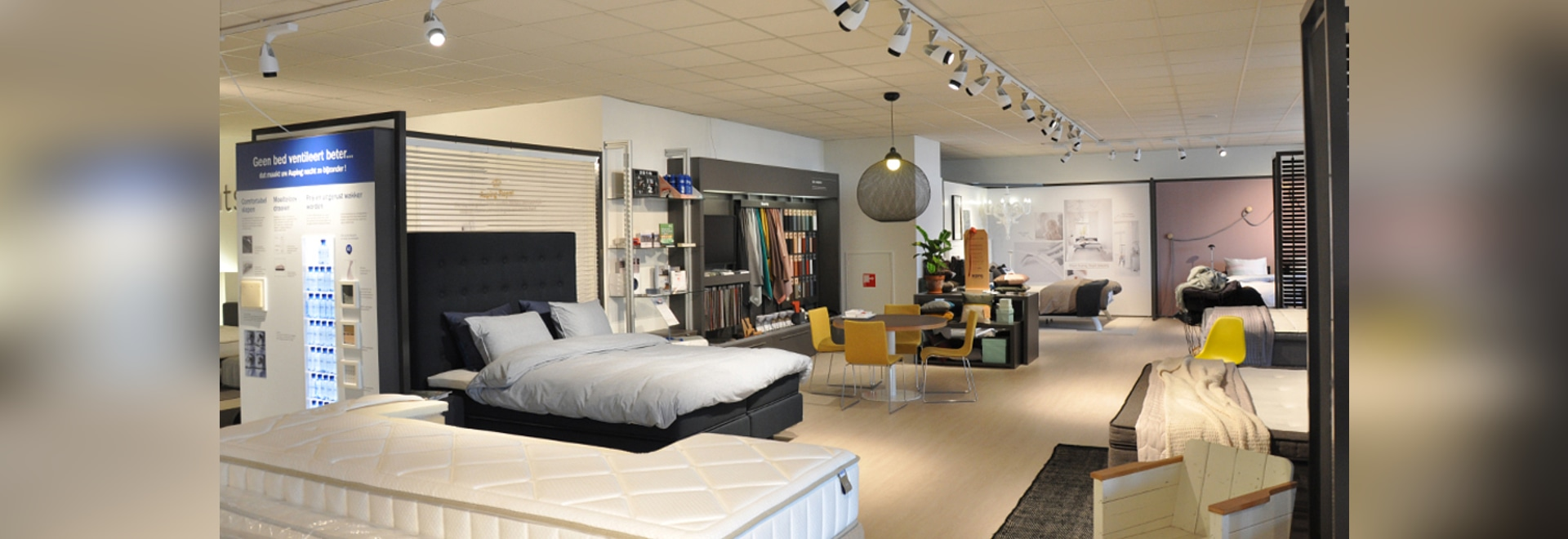 Auping showroom, The Netherlands