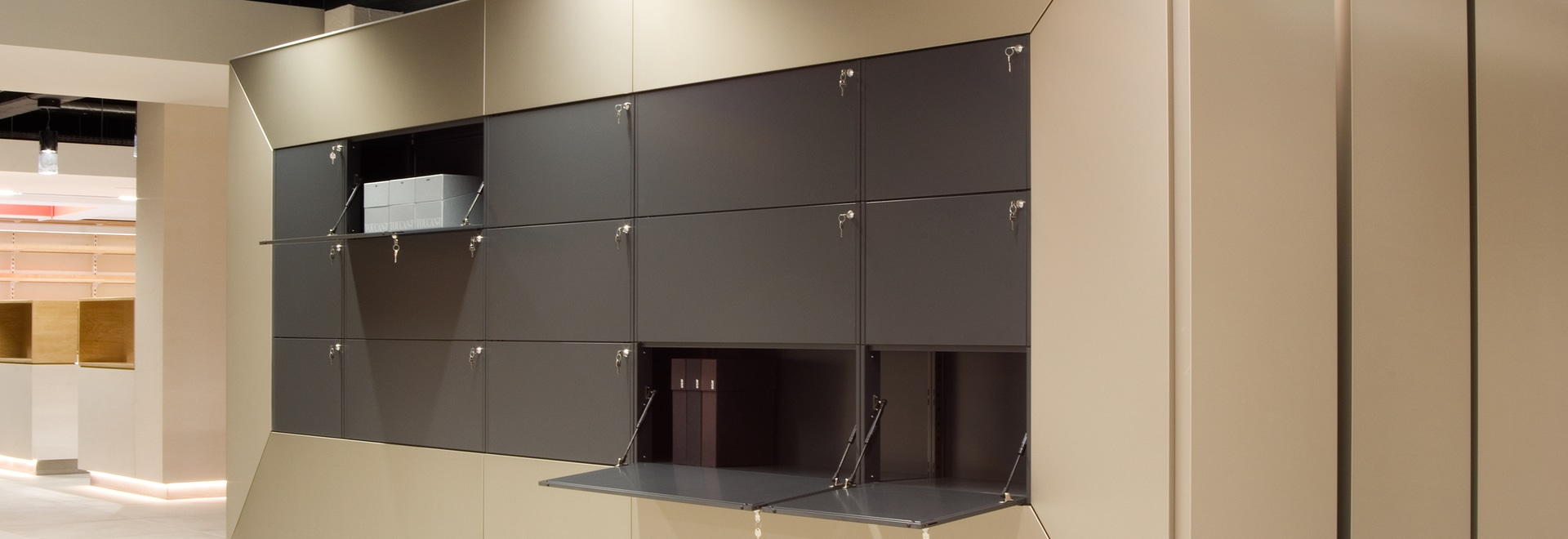 Award-winning shelving system
