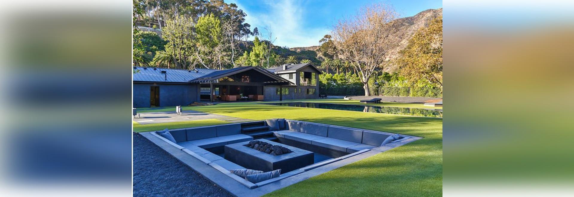 backyard design idea u2013 create a sunken fire pit for entertaining