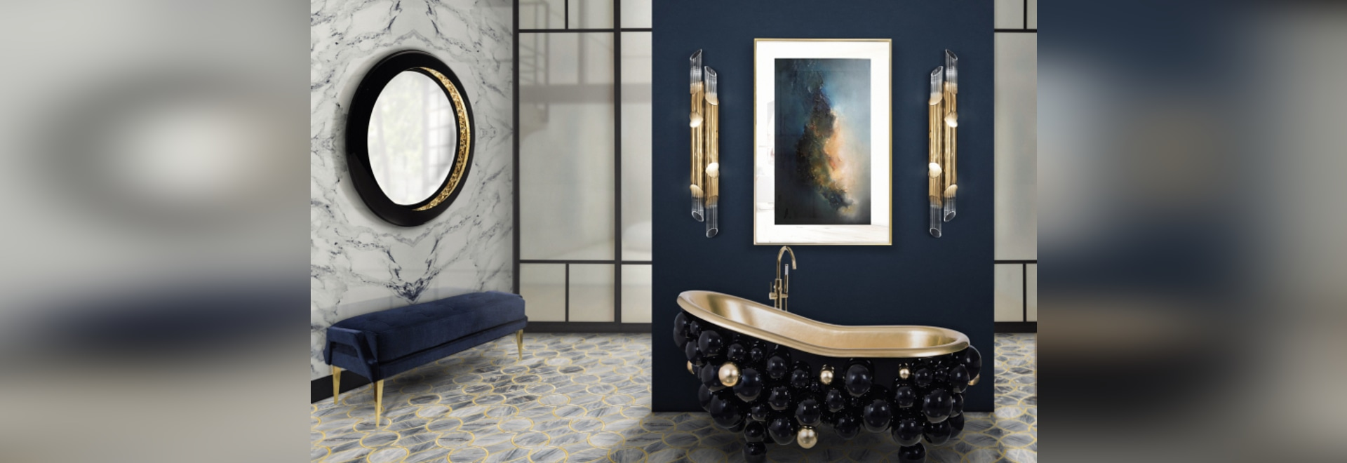 Bathroom Color Trends Preview 2019