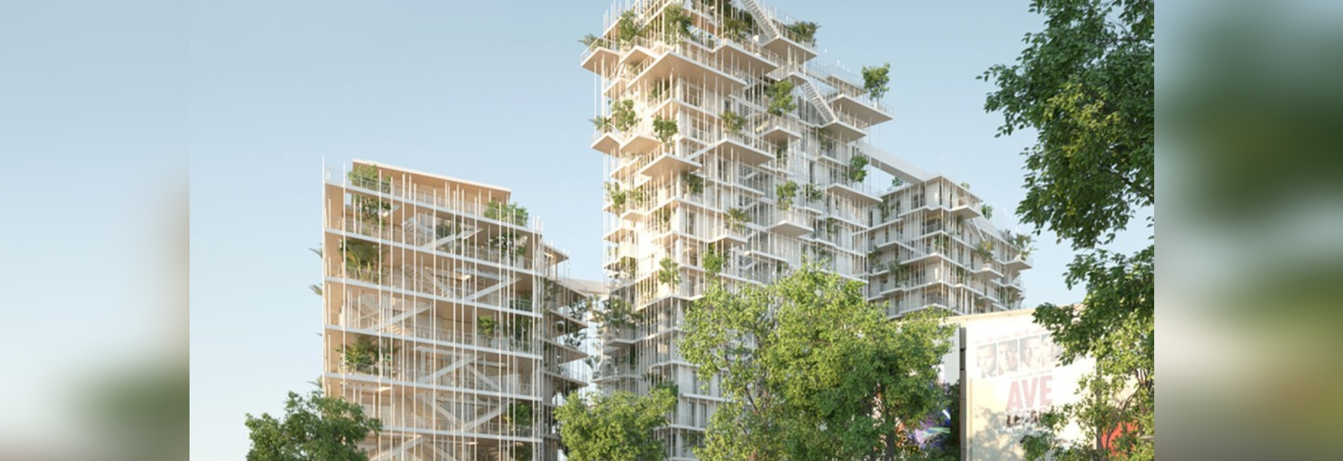 Bordeaux' Canopia tower will be one of the tallest timber frame structures in the world