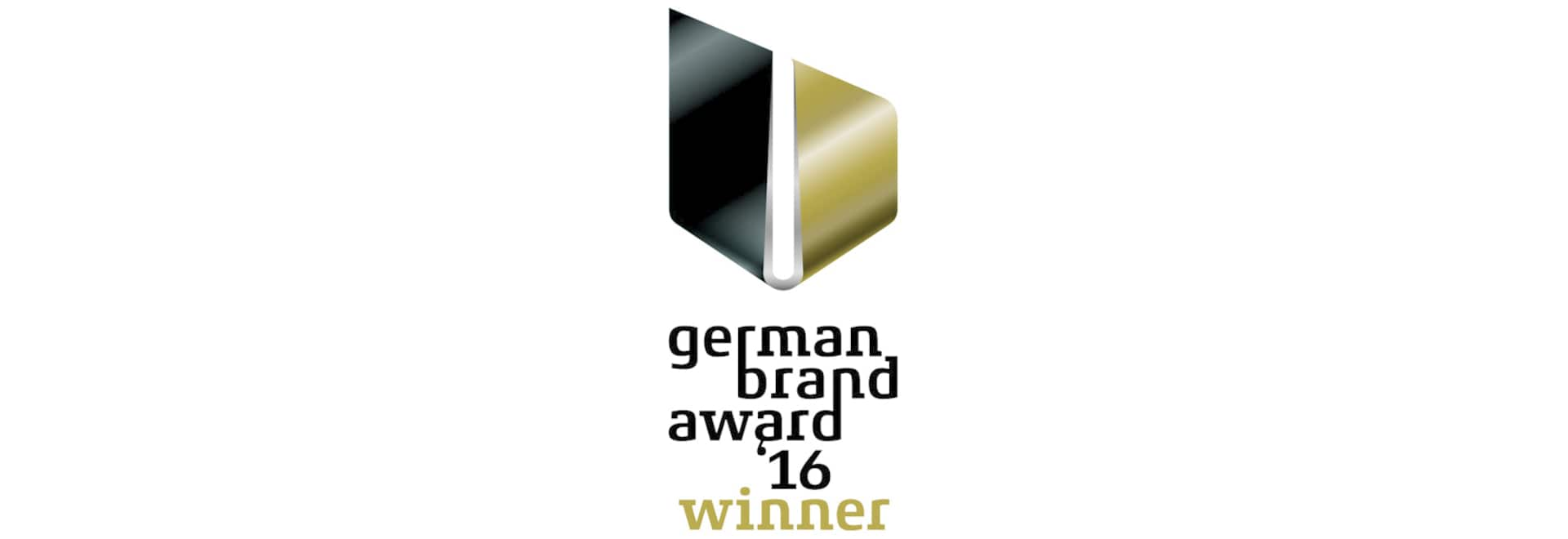 BRUNE wins the German Brand Award 2016