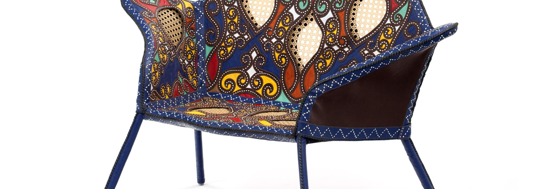 Campana Brothers base Cangaço furniture on Brazilian bandits' clothing