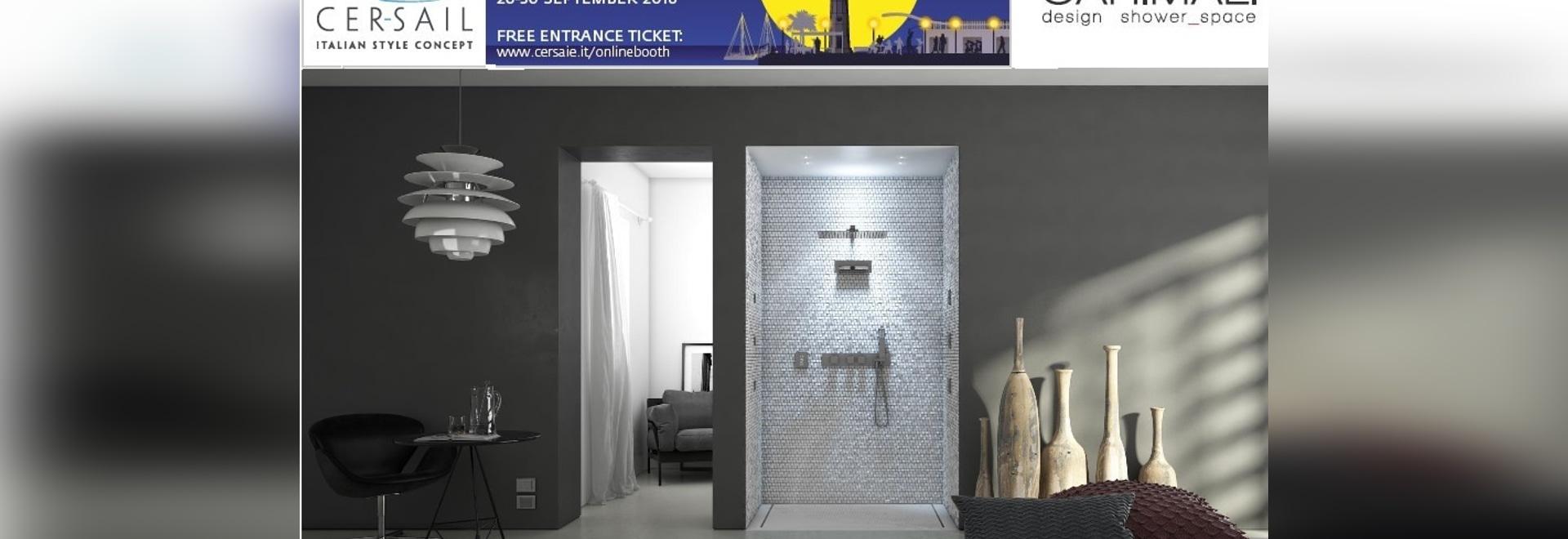 CARIMALI design shower_space at CERSAIE 2016