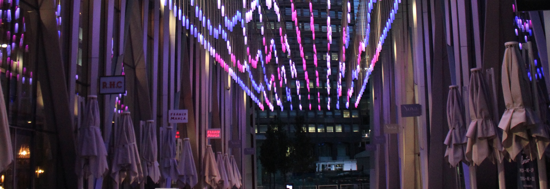 Catenary Lights at NOVA London