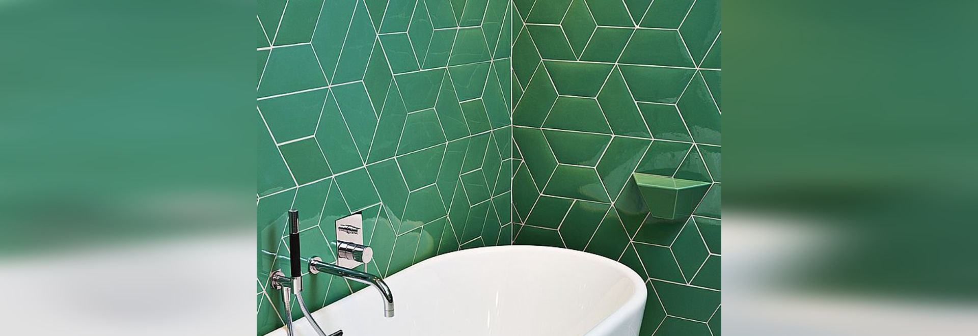 Ceramic tiles - Diamond & Trapezium 2D-3D - Normandy Ceramics ...