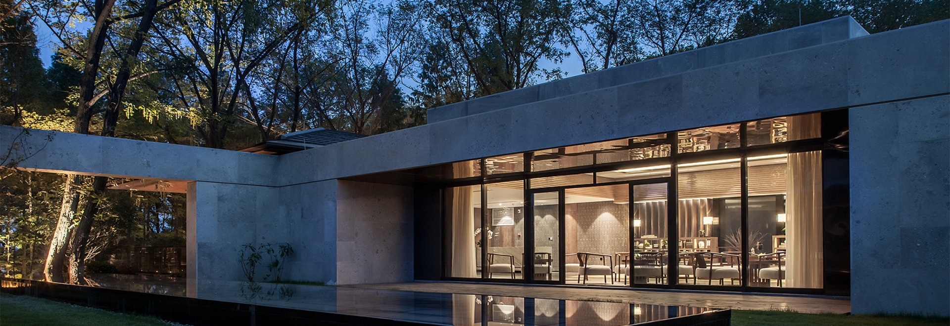 CL3u0027s tea house in china uses wood