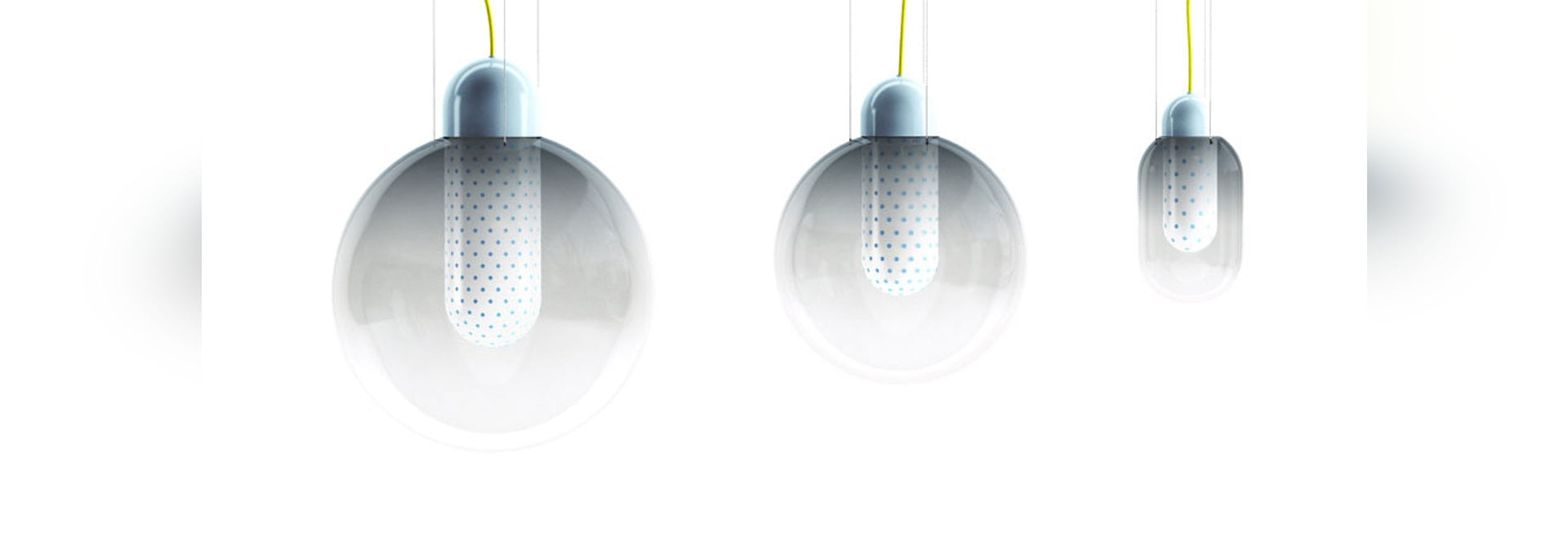 Colour Globe Lights by Scholten & Baijings