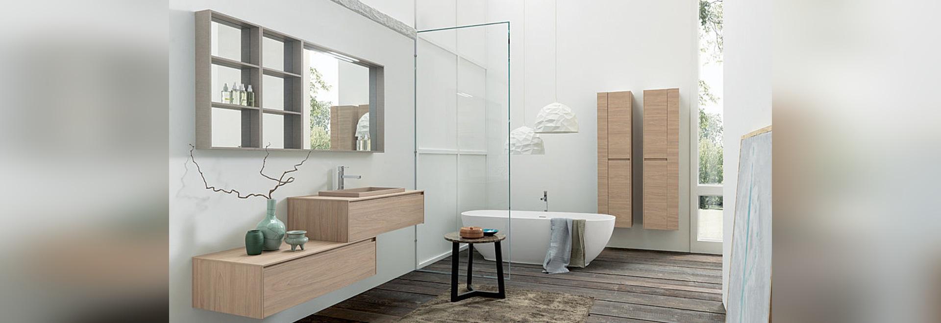 Contemporary bathroom: Tulle