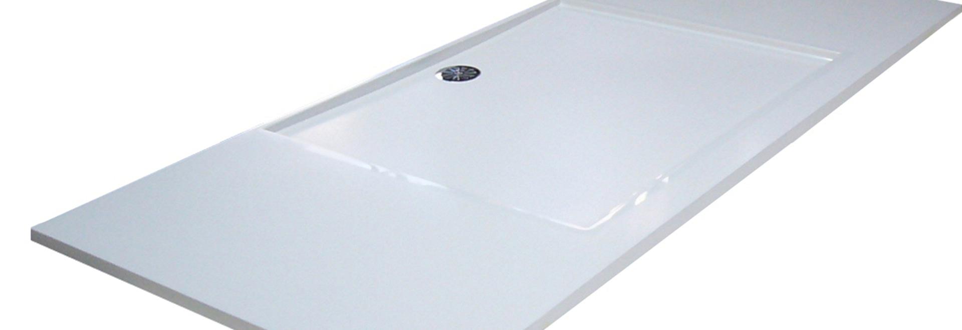Custom Made Shower Trays In Pietraluce®