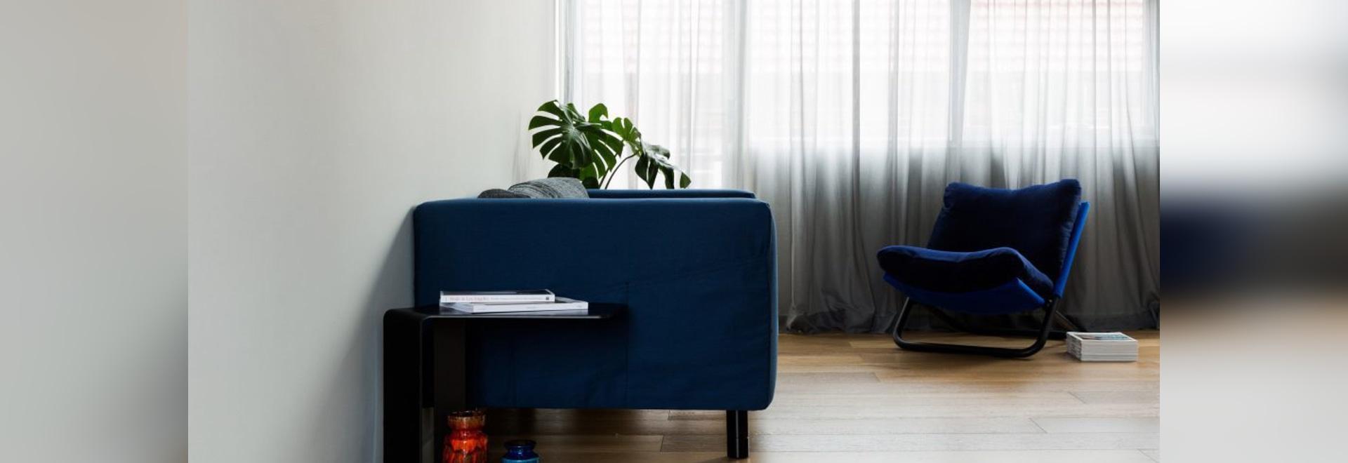 Dominic Kuneman creates minimal interior for Sydney micro apartment