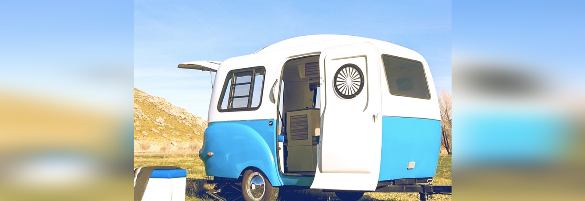 Solar Retro Modern Happier Camper Hc1 Features A Lego Like Interior Off Grid Power System On An Rv Recreational Vehicle Or Dreaming Of Summer Road Trip Adventure Youll Love The