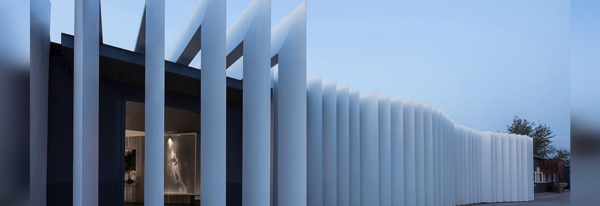 Encounter a beam of light in design