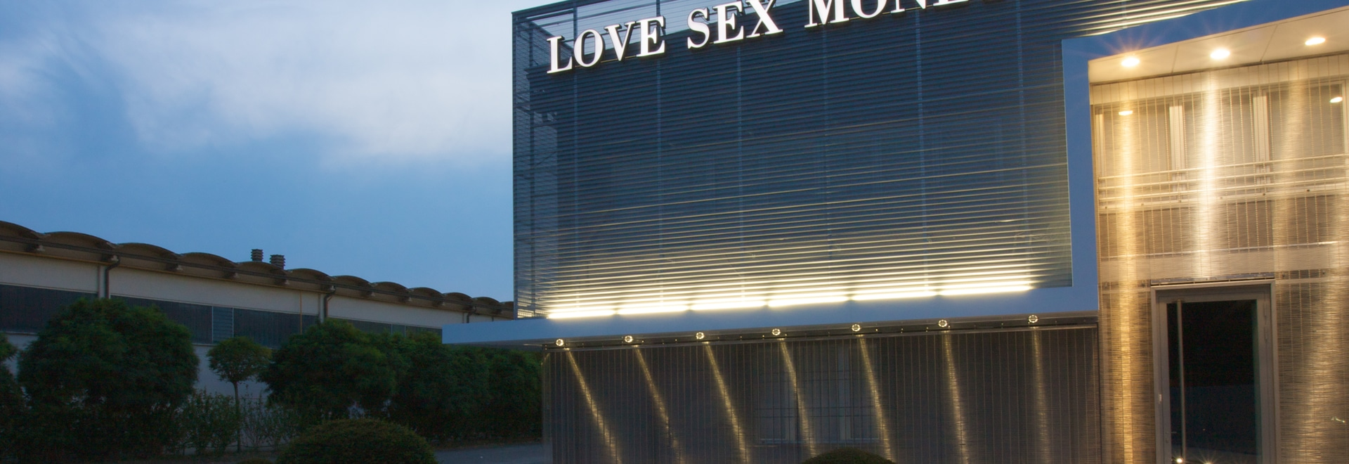 Facades - Love Sex Money Headquarters; Carpi, Modena