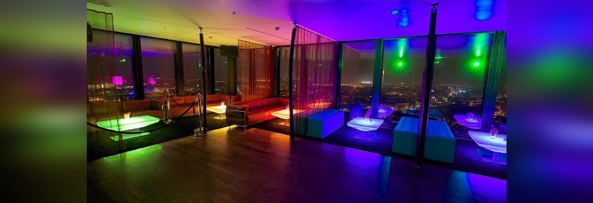 FASCINATING LIGHTING AMBIENCE FOR BASEL'S PARTYGOERS: