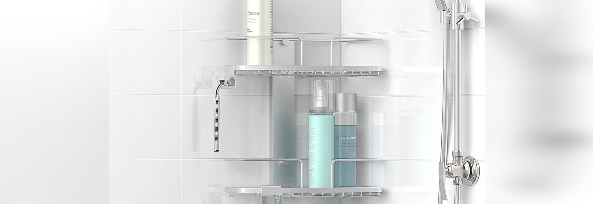 FineLine Shower Baskets - Better Living Products