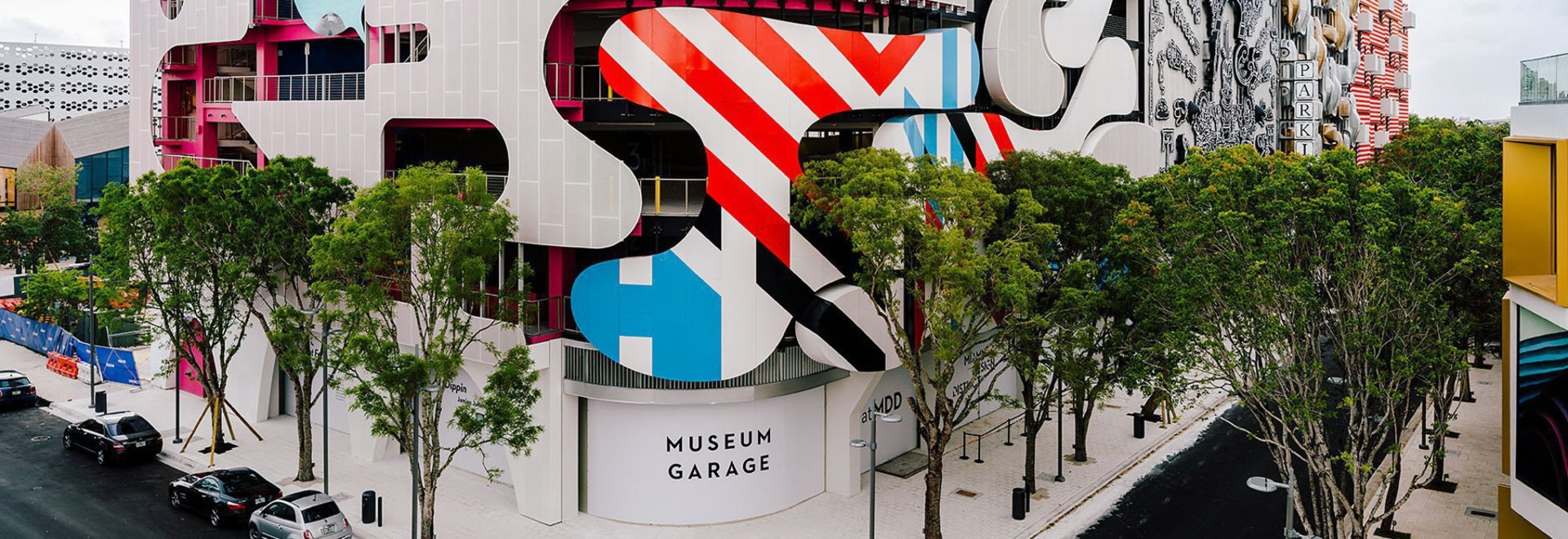 five different studios design 'wildly varied' facades for miami's museum garage