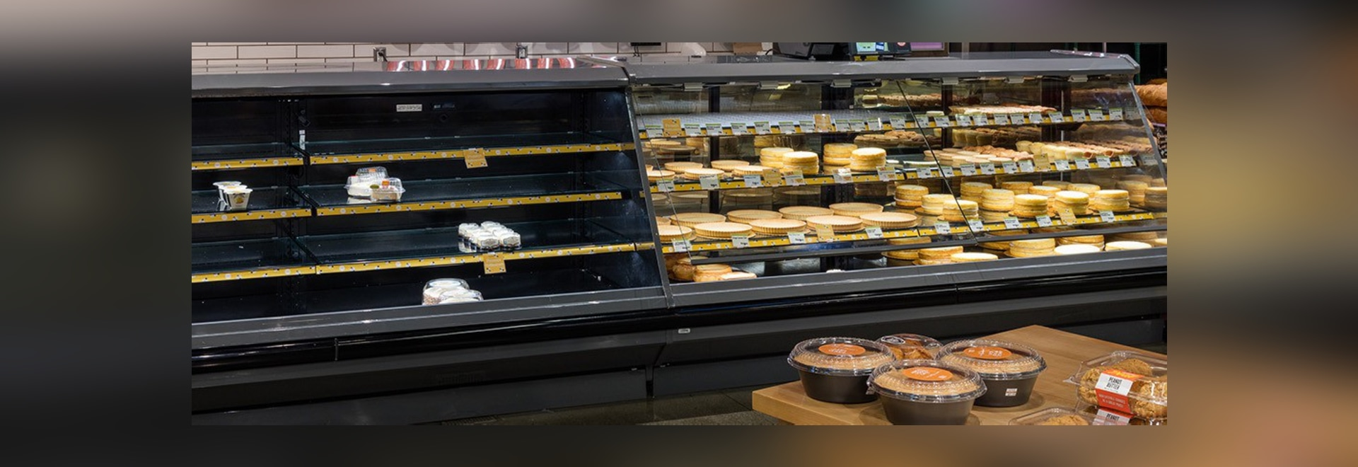 A Fremont, California Whole Foods Market demonstrated what a bakery department without bees would look like.