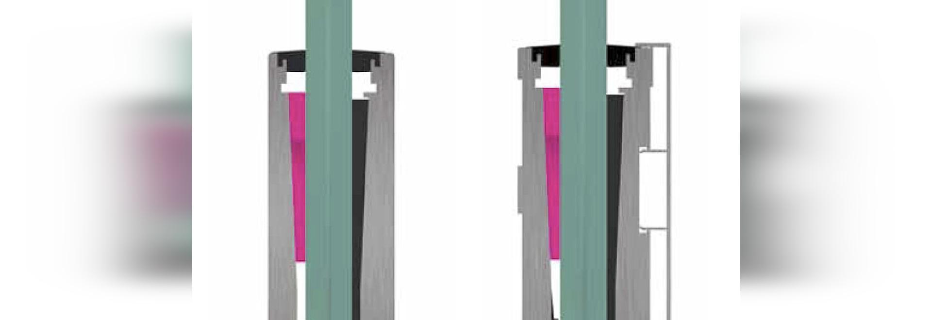 GlassU 2kN - Design solutions for glass railings
