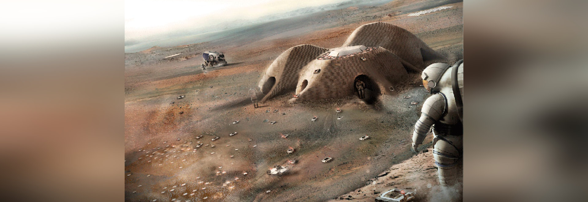 the habitat will be delivered in two stages prior to the arrival of the astronauts