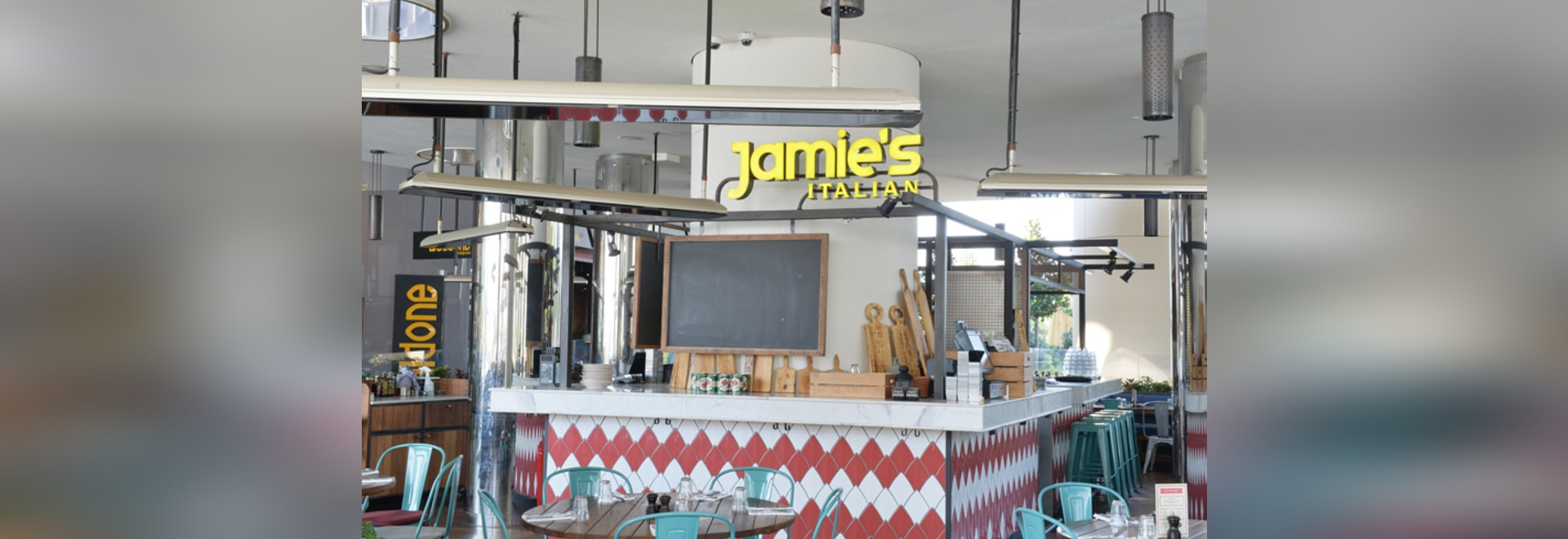 HEATSCOPE Installation at Jamie's Italian Restaurant, Zorlu Center, Istanbul, Turkey