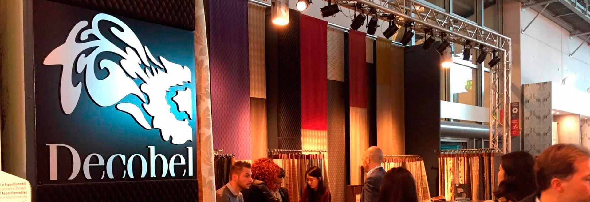 Heimtextil 2016: Decobel presents the new collection, with a focus on the 3D effect