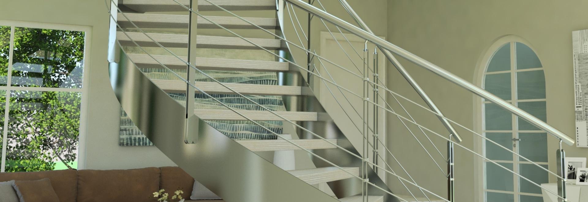 HeliKa inox- Stairs to live