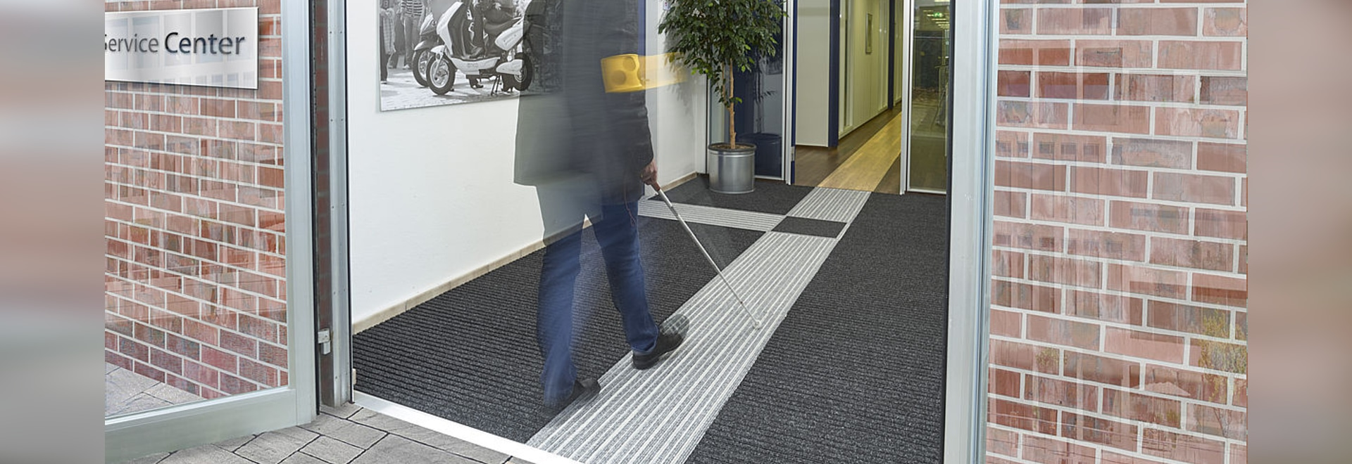 High quality tactile guidance matting system for the blind and high quality tactile guidance matting system for the blind and visually impaired dailygadgetfo Choice Image