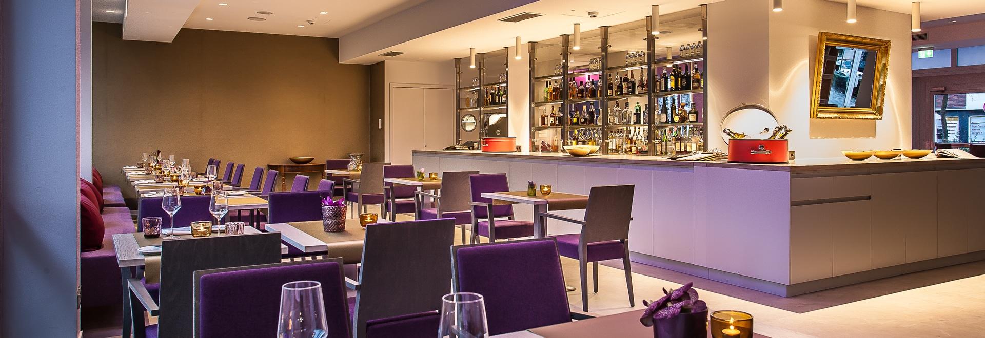 Hotel Indigo Dusseldorf dining room
