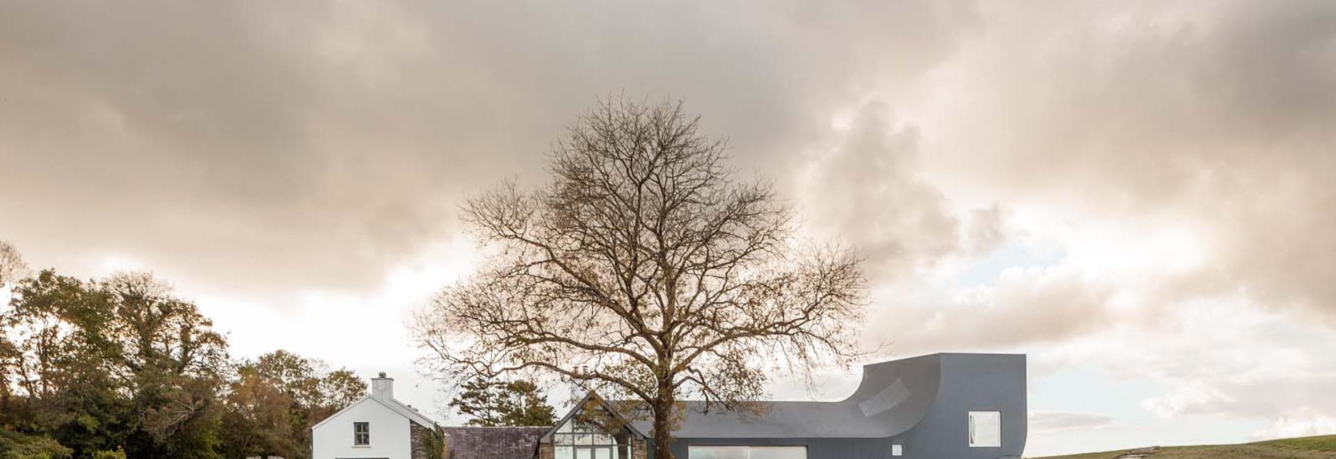 House in Inchigeelagh, County Cork, Markus Schietsch Architekten, 2011-2014. (All images courtesy Markus Schietsch Arkitekten)