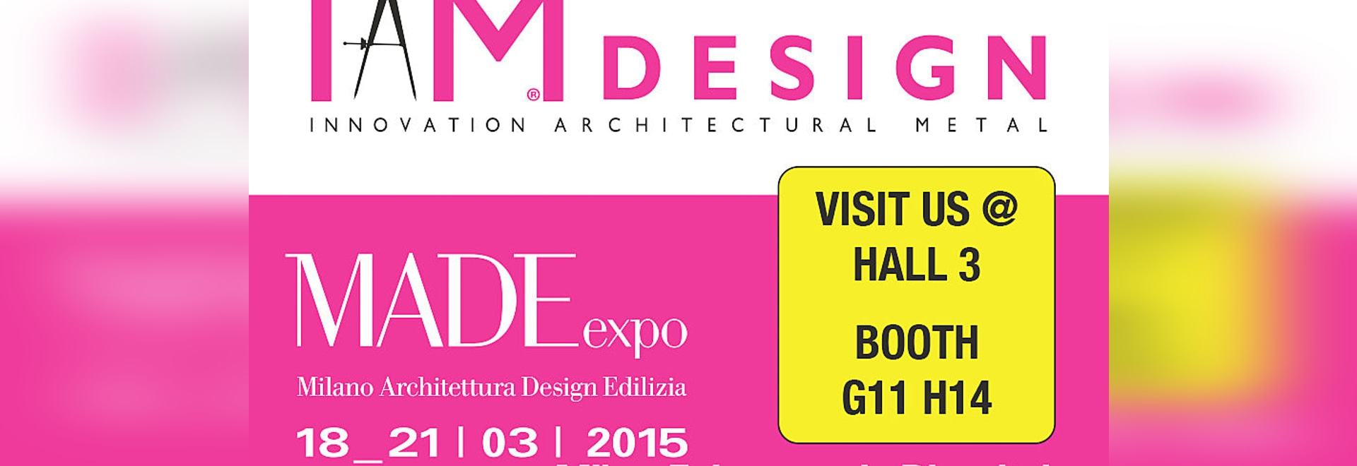 IAM Design confirms its presence at MADE expo 2015