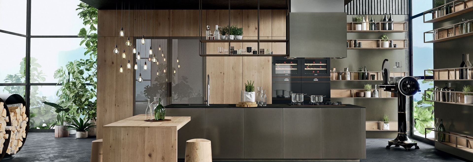 INDUSTRIAL STYLE IN THE KITCHEN: 5 TIPS TO GET IT RIGHT