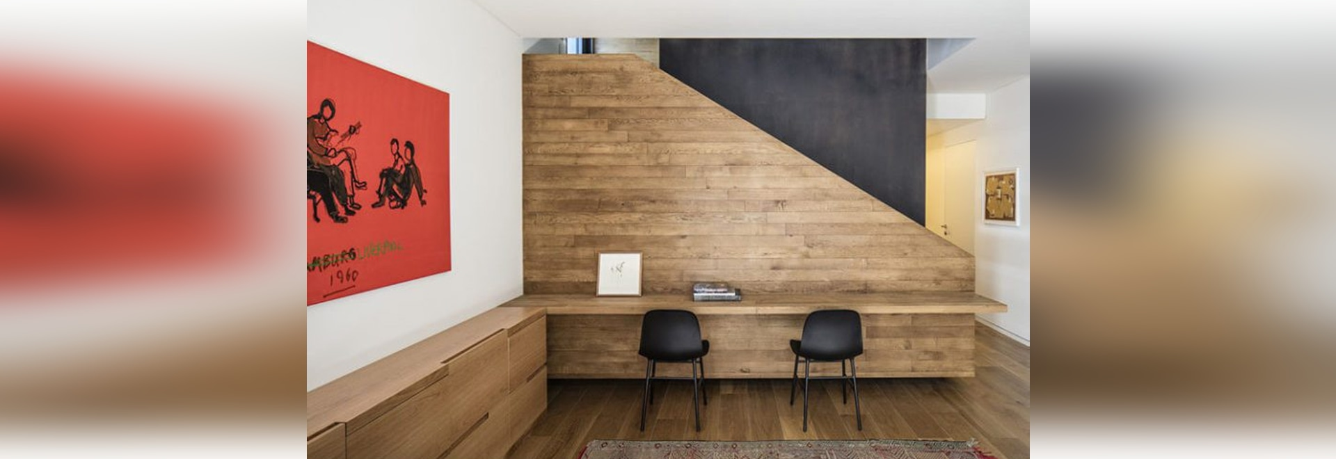 Interior Design Ideas – Build A Desk On An Unused Wall Space