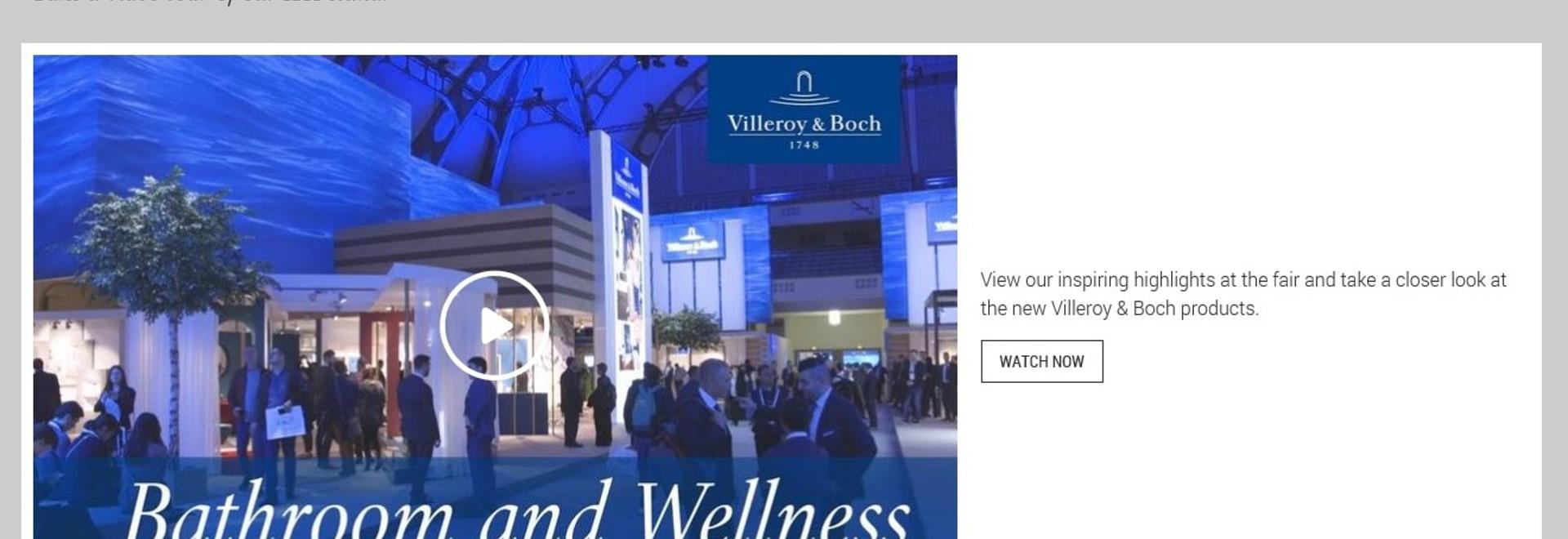 ISH 2019 Video Villeroy & Boch